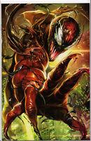 VENOM #14 (1ST PRINT) CARNAGE BATTLE LINES VARIANT COVER COMIC BOOK ~ Marvel