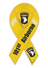 Magnetic Bumper Sticker - 101st Airborne Division (Army, Screaming Eagles)