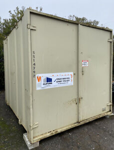 10/12ft Site Cabin, Storage Container Shipping Container