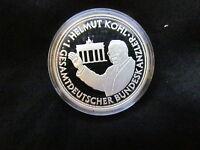 Deutsche Einheit 1. gesamtdeutscher Bundeskanzler Silber 999 PP Medaille