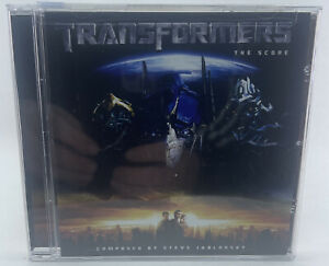 Transformers - The Score - Composed by Steve Jablonsky - New & Sealed CD - B5