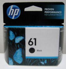 HP 61 (CH561WN) GENUINE BLACK INK CARTRIDGE, NEW IN BOX