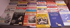 Single Song Sheet Music - Make Your Own Lot - All Sheets 99p Each (2)