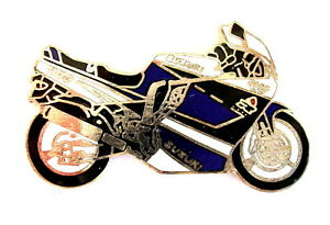 MOTORRAD Pin / Pins - SUZUKI GSX-R 1100 dunkelblau (2257A)