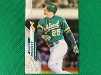2020 Topps Vintage Stock #593 Stephen Piscotty 95/99 Oakland Athletics