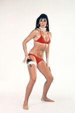 Caroline Munro The Spy Who Loved Me red bikini with gun James Bond 11x17 Poster
