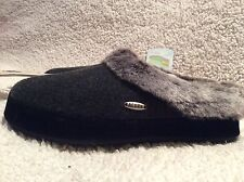 NEW Acorn Charcoal Women's Slippers Size 9.5 -10.5 ~ Retail $50 ~ Cloud Cushion