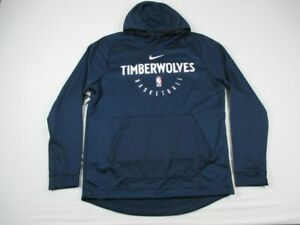 Minnesota Timberwolves Nike Sweatshirt Men's Navy Poly NEW Multiple Sizes