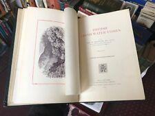 1895 British Fresh-Water Fishes - William Houghton - Fishing Locations - Fish