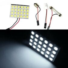 24 LED Festoon 31mm - 41mm BRIGHT Car Interior Roof Map Dome Door  T10 BA9S