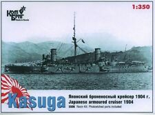 COMBRIG MODELS 3506 JAPANESE ARMORED CRUISER KASUGA 1904 SCALE MODEL KIT 1/350