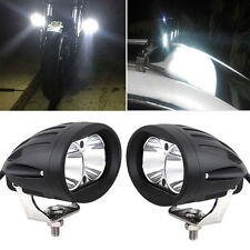 2PCS 20W Cree Spot LED DRL Light Driving Fog Offroad 4WD Bar Bright Top Quality