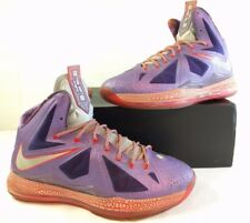 NIKE LEBRON X 10 AS AREA 72 ALL STAR GALAXY LASER PURPLE 583108-500 Size 13