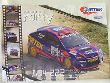 Michael Guest Pirtek Ford Rally Team Poster