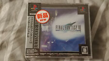 FINAL FANTASY VII FF7 INTERNATIONAL jeu PS1 PSX PSone Ultimate Hits NEUF blister