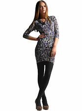 NEW BCBG Max Azria purple jersey shirred zipper dress  size S $188