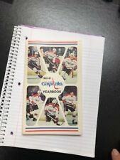 Original NHL Washington Capitals 1980-81 Official Hockey Media Guide Nice-P12
