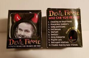 Devil Frame A Photo Picture Frame For Friends Or Foes NIB Satan Diablo