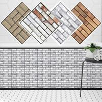 30*30cm Modern Removable 3D Tile Wall Sticker Decal Fake Brick DIY Home Decor