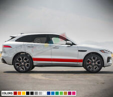 Stickers Decal for Jaguar F Pace Stripes coupe door body kit part Sport Turbo