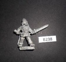 Warhammer Citadel NORSE BARBARIAN FIGHTER WITH SWORD 'BONDI' 1980's B 238