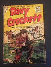Davy Crockett Frontier Fighter # 1 G Charlton Comic Book 1955