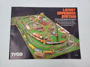 Tyco Layout Expander System Step by Step Instruction Manual Booklet