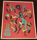Tim Biskup Poster 944 Las Vegas Hard Rock Hotel Casino Art Print Tiki Skull Girl