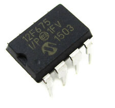 5PCS PIC12F675 12F675 PIC12F675-I/P DIP-8 Microcontroller CHIP IC NEW