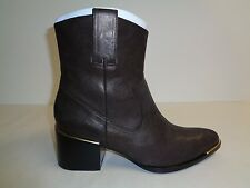Rachel Zoe Size 8.5 M LORI PEARLIZED Bronze Leather Ankle Boots New Womens Shoes
