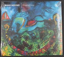 IVANO BOGINO Whisper Of Horses CD album UK 2000 Just Music NEW/SEALED