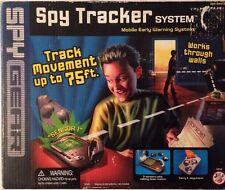 Raro Spy Gear Tracker hablando LED del sensor de movimiento inalámbrico 3 sistema de rango 75ft
