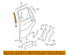 TOYOTA OEM 01-05 RAV4 Exterior-Rear-Tape Right 7592542010