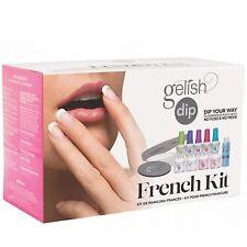 Gelish Harmony Soak off Acrylic Powder Nail Polish DIP Manicure Set French Kit