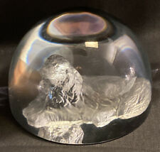 Afghan Hound Glass Paperweight