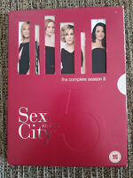 SEX AND THE CITY SEXO EN NUEVA YORK SEASON 5 COMPLETE - 2 DVD HBO ENGLISH GERMAN