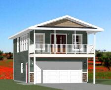 20x32 House -- 1 Bedroom -- 4:12 Roof Pitch -- PDF Floor Plan -- Model 7F