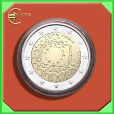 "2 Euro € Gedenkmünze Zypern 2015 Coin Coins "" EU-Flagge "" BU"