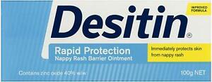 Desitin Rapid Relief Nappy Rash Ointment Cream 100g