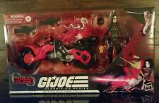 NIB G.I. JOE Classified Series Baroness W/ Cobra COIL Target Exclusive!!