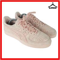 Asics Onitsuka GSM Unisex Nubuck Leather Trainers UK 7 / 41.5 Pastel Pink D5K1L
