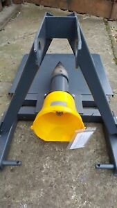Tractr Log Splitter Powered Screw Type From PTO Fits Tractor cat 1and2 HY Crack