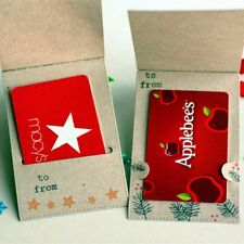 Gift Card Metal Cutting Dies Stencil Scrapbook Paper Card Embossing Craft Gift