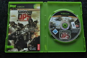 Shadow OPS Red Mercury XBOX Game And Manual