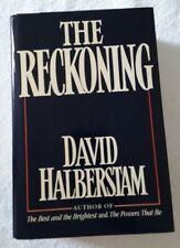 The Reckoning by David Halberstam (1986, Hardcover)