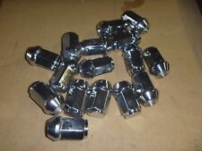 NEW 77-79 Ford F100 F150 F250 Truck 1/2-20 48 Set of 16 Chrome Tapered Lug Nuts