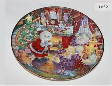 Franklin Mint Heirloom Porcelain Plate Not A Creature Was Purring Lc5825
