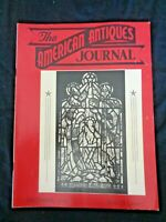 1948 AMERICAN ANTIQUES JOURNAL Stained Glass Windows Cast Iron Pull Toys Santons