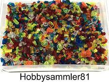 Lego 50 oder 100 Stück transparent gemischt Sonderteile Kleinteile flach rund