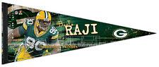 B.J. Raji SIGNATURE SERIES Green Bay Packers NFL Premium Felt Collectors PENNANT